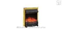 Электротопка Royal Flame Fobos FX Golden Brass из металла_1