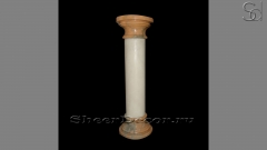 Pillar Crystal White Bordi